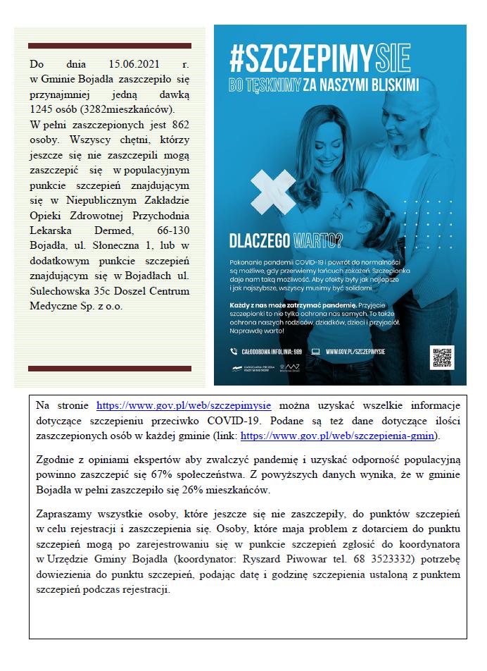 Ilustracja do informacji: Popularyzacja szczepień
