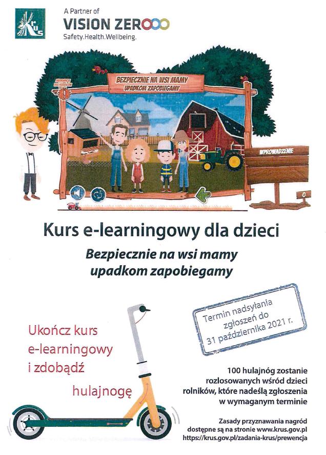 Ilustracja do informacji: Kurs e-learningowy dla dzieci rolników