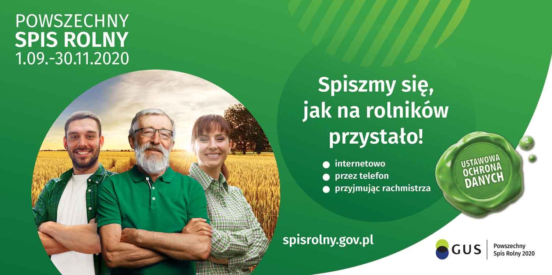 Ilustracja do informacji: SPIS ROLNY 2020