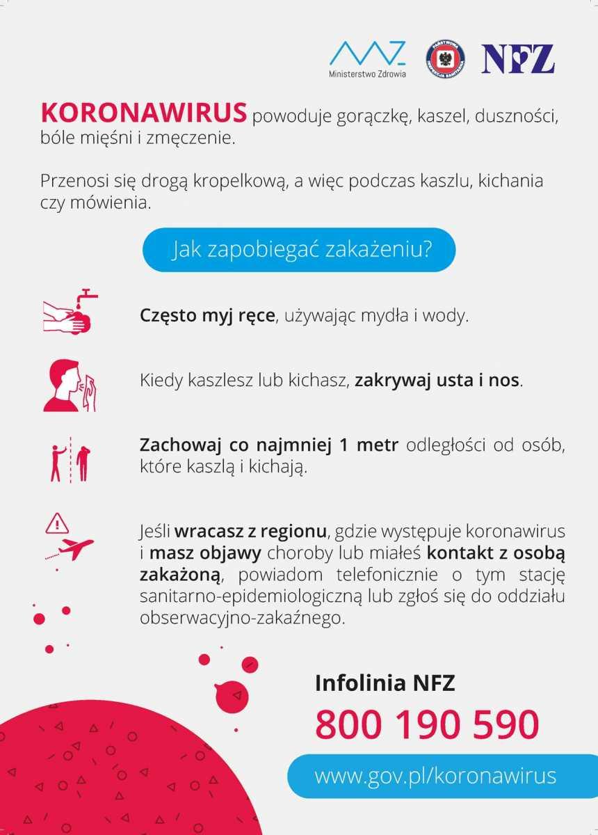 Baner: Koronawirus