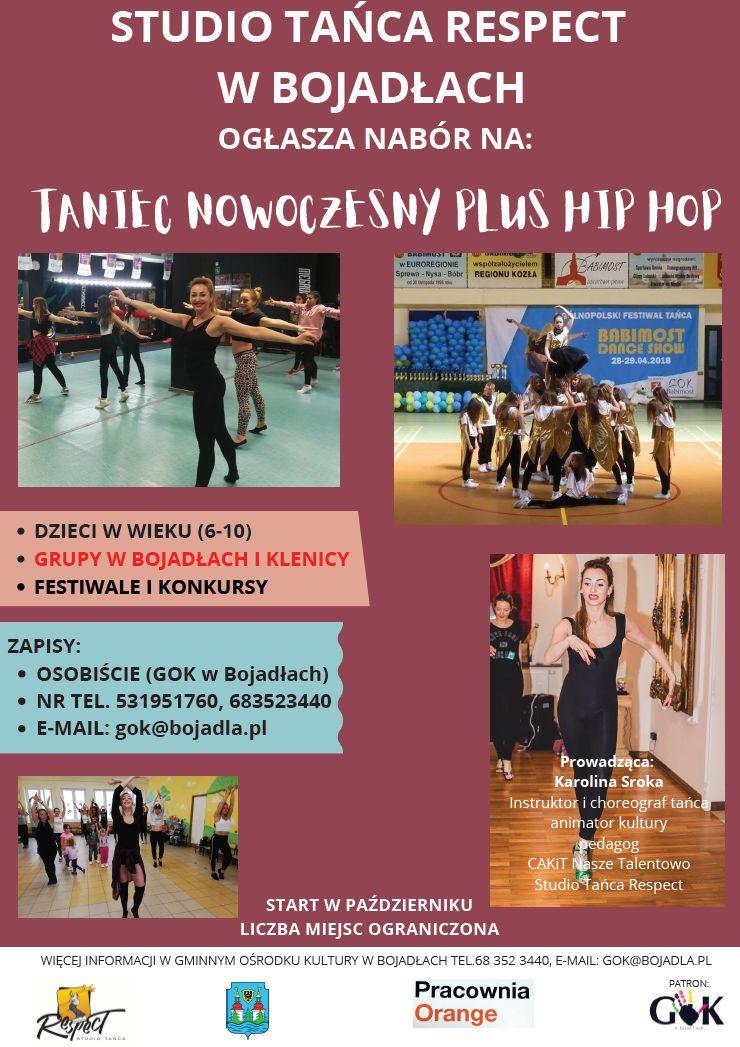 Ilustracja do informacji: Studio Tańca RESPECT w Bojadłach ogłasza nabór