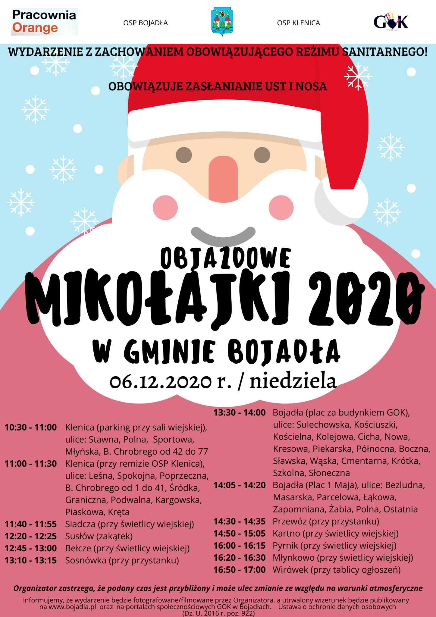 Ilustracja do informacji: Objazdowe Mikołajki