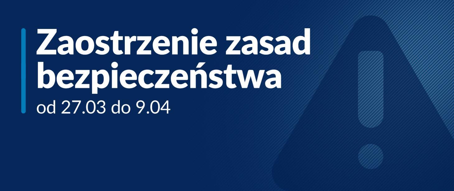 Ilustracja do informacji: Od 27 marca zmiany w zasadach bezpieczeństwa