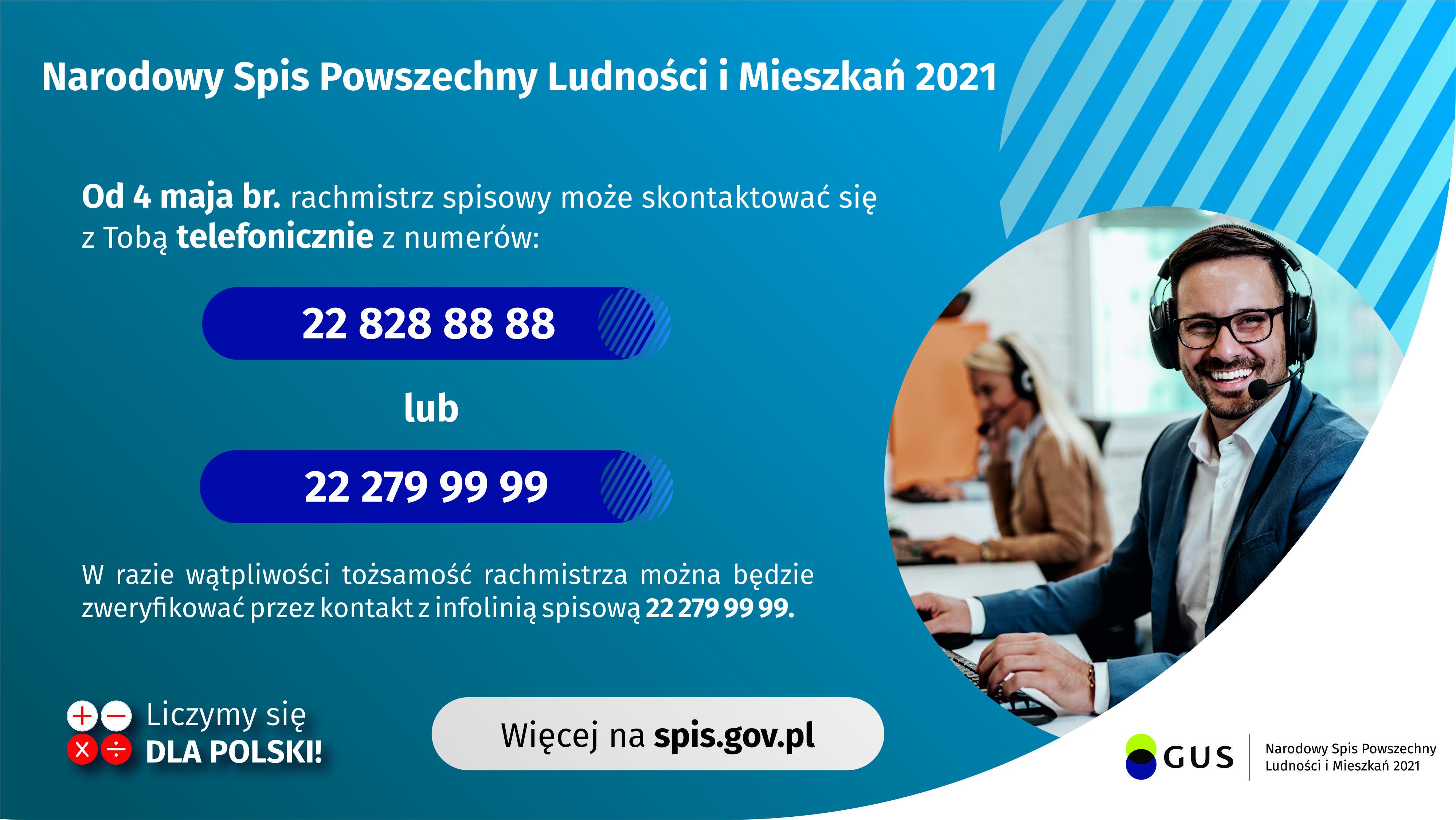 Ilustracja do informacji: Od 4 maja rusza telefoniczny spis powszechny.